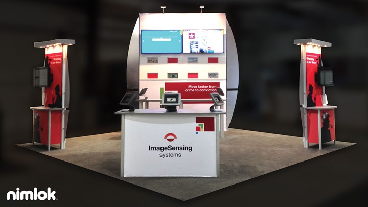 Image Sensing - 20x20 - trade show exhibit