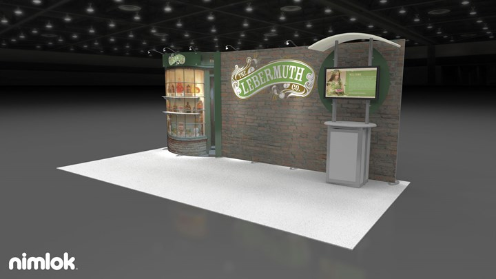 Lebermuth Company - 10x20 - trade show exhibit