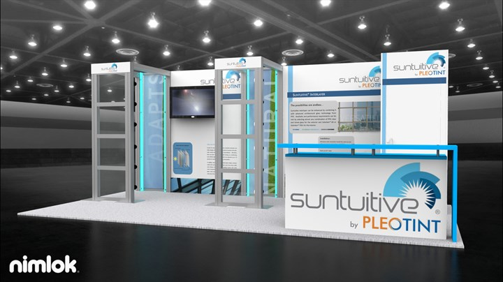 Pleotint - 10x20 - trade show exhibit