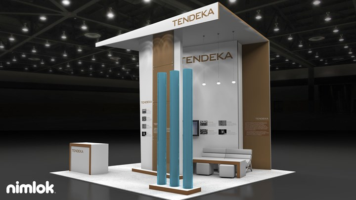 Tendeka - 20x20 - trade show exhibit