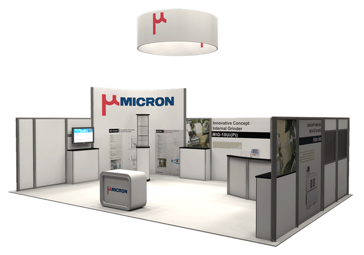 Mircon USA - 20x30 - trade show exhibit