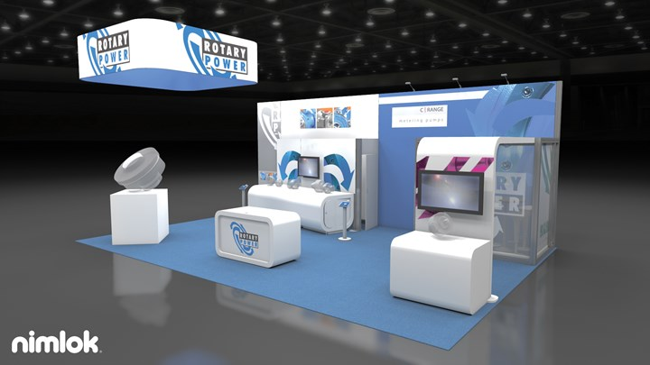 Rotary Power - 20x30 - trade show exhibit