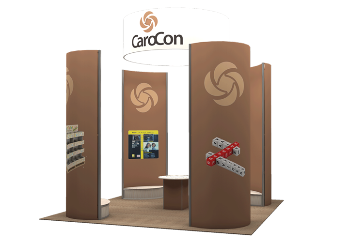 Carocon - 20x20 - trade show exhibit