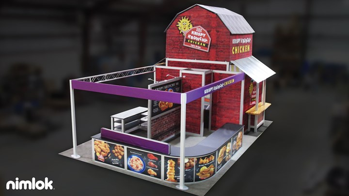 Krispy Krunch - 20x30 - trade show exhibit