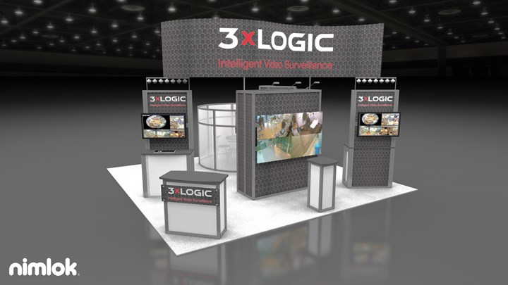3xLogic - 20x20 - trade show exhibit