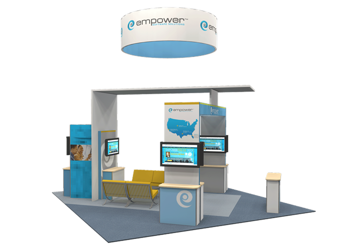 Empower Software Solutions - 20x20 - trade show exhibit