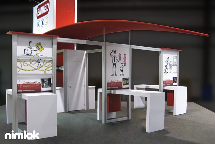 Embed - 30x30 - trade show exhibit