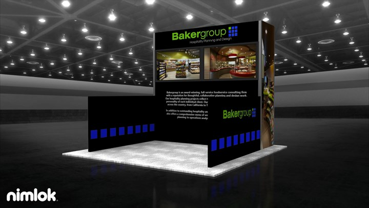 Baker Group - 10x10 - trade show exhibit