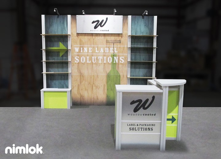 Wausau Coated - 10x10 - trade show exhibit