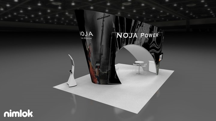 NOJA Power - 20x30 - trade show exhibit