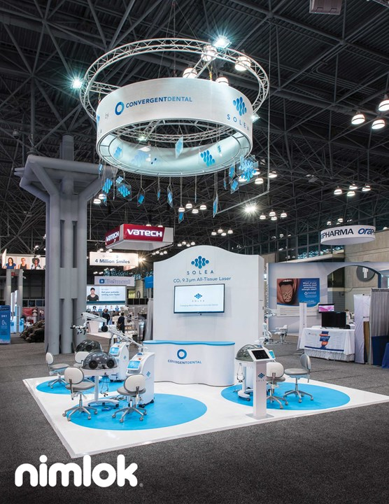 Convergent Dental - 20x20 - trade show exhibit