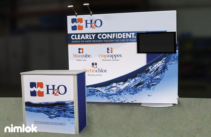 H20, inc. - 10x10 - trade show exhibit
