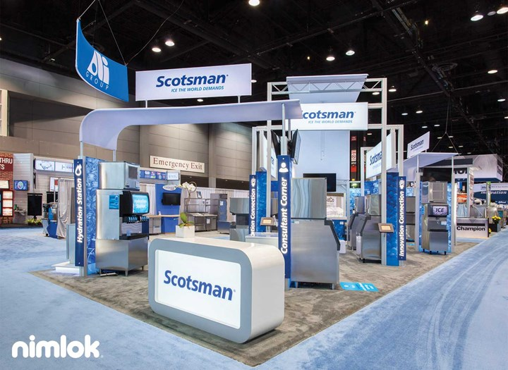 Scotsman - 30x50 - trade show exhibit