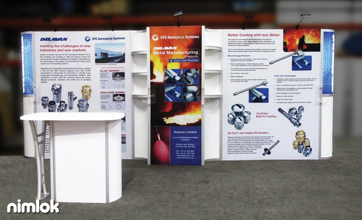 Delavan - 10x20 - trade show exhibit
