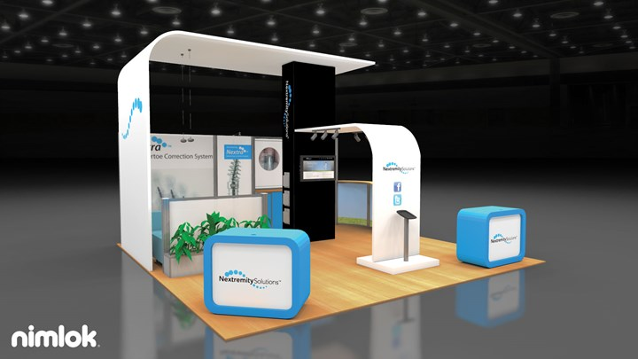 Nextremity Solutions  - 20x20 - trade show exhibit