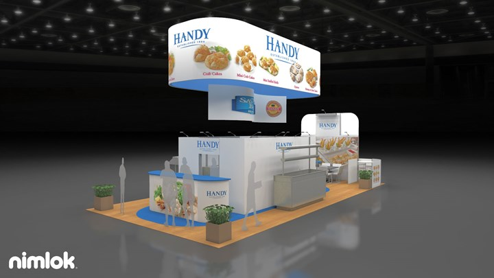 Handy International - 20x40 - trade show exhibit