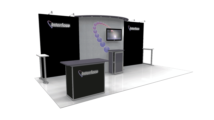 Interface  - 10x20 - trade show exhibit