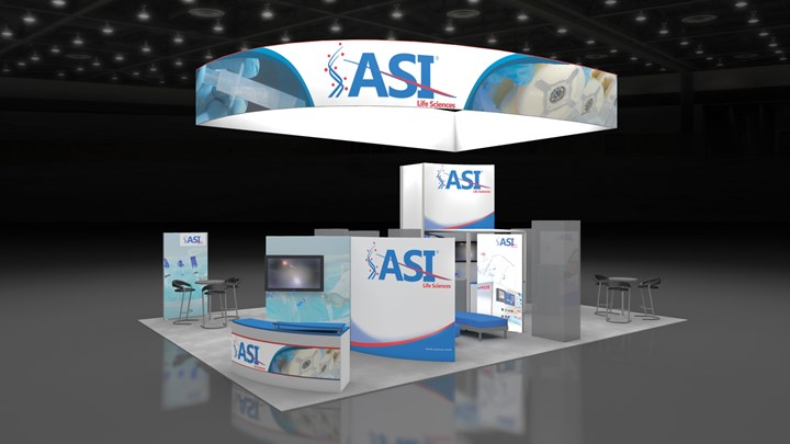ASI Interphex - 30x40 - trade show exhibit
