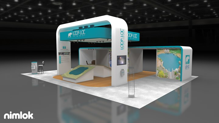 Loop-loc - 30x40 - trade show exhibit