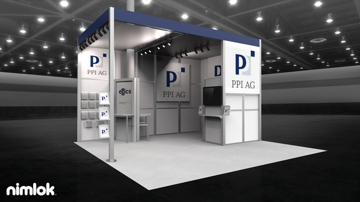 PPI AG (Sibos) - 20x20 - trade show exhibit