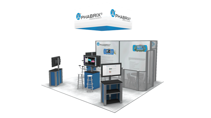 Phabrix - 20x20 - trade show exhibit