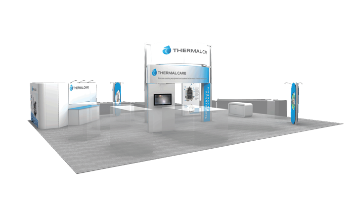 Thermal Care - 40x50 - trade show exhibit