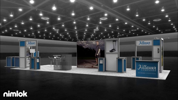 Fillauer - 20x53 - trade show exhibit