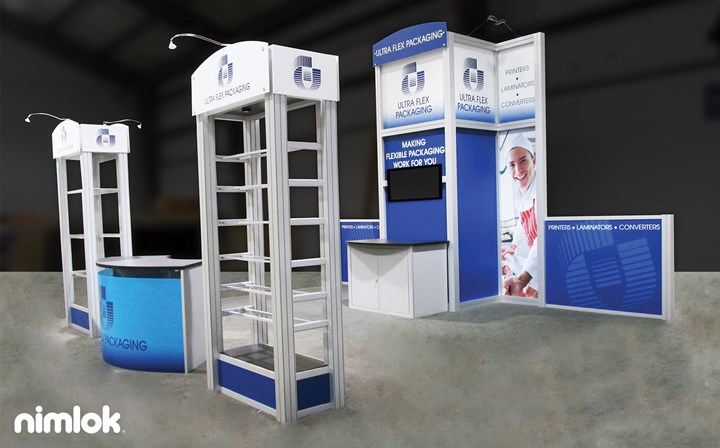 Ultra Flex Packaging - 20x20 - trade show exhibit