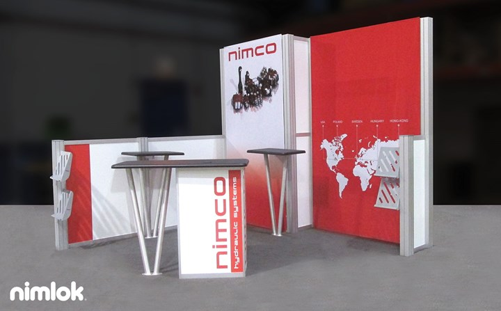 Nimco - 10x10 - trade show exhibit