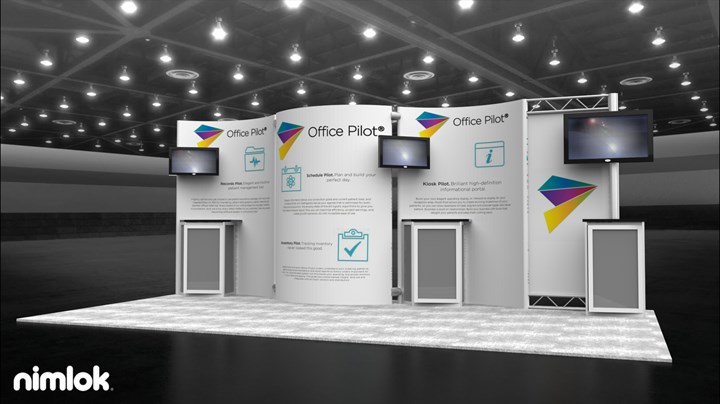 Office Pilot  - 20x20 - trade show exhibit