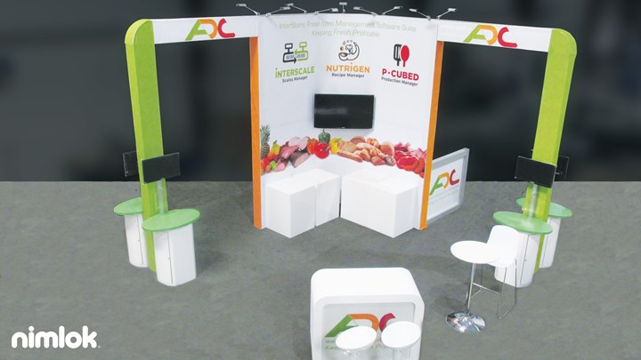 Applied Data Corporation - 20x20 - trade show exhibit