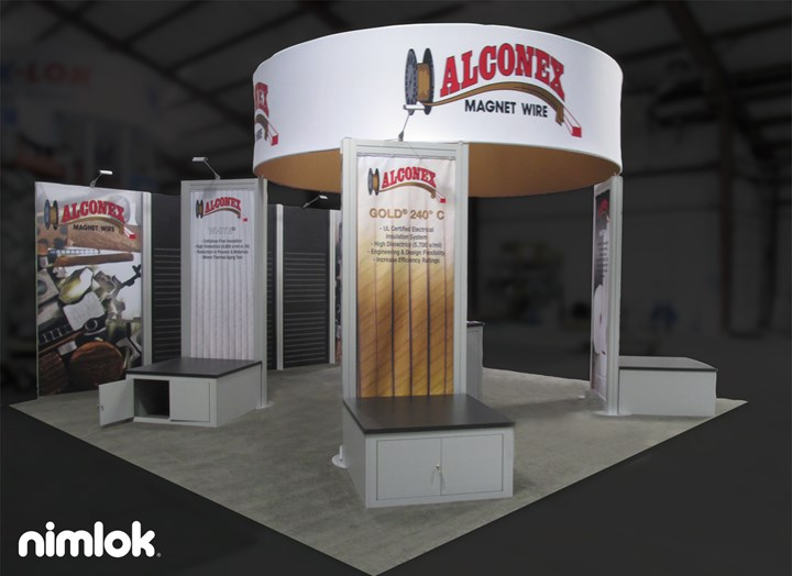 Alconex - 20x20 - trade show exhibit