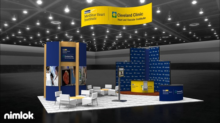 Medstar Heart Institute - 20x30 - trade show exhibit