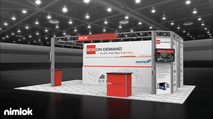 Box on Demand - 20x30 - trade show exhibit