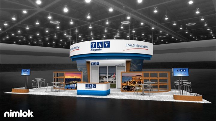 TAV Airports  - 20x50 - trade show exhibit