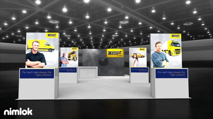 Hengst - 10x20 - trade show exhibit