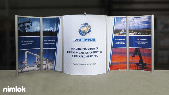 SNF Holding - 10x20 - trade show exhibit