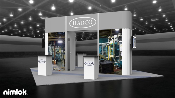 Harco Fittings - 20x20 - trade show exhibit