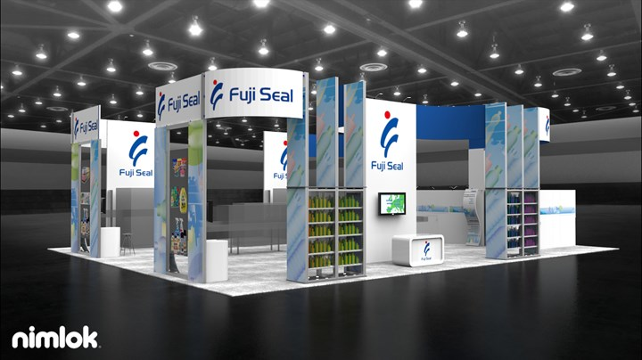 Fuji Seal - 48x60 - trade show exhibit