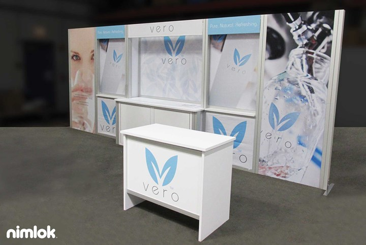 Vero Water - 10x20 - trade show exhibit