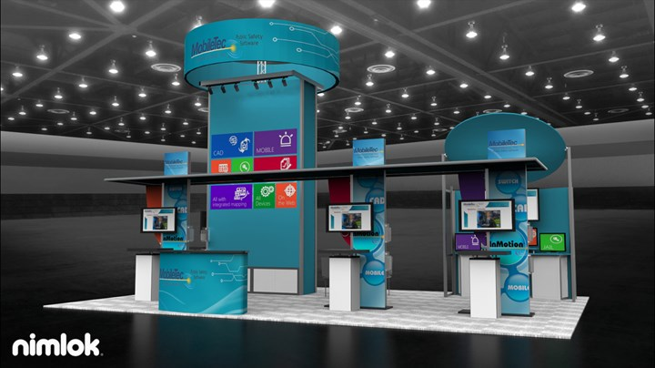 MobileTec International, Inc. - 20x30 - trade show exhibit
