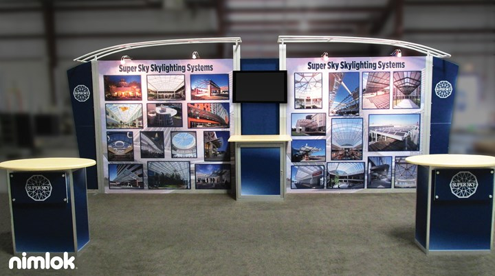 Super Sky - 10x20 - trade show exhibit