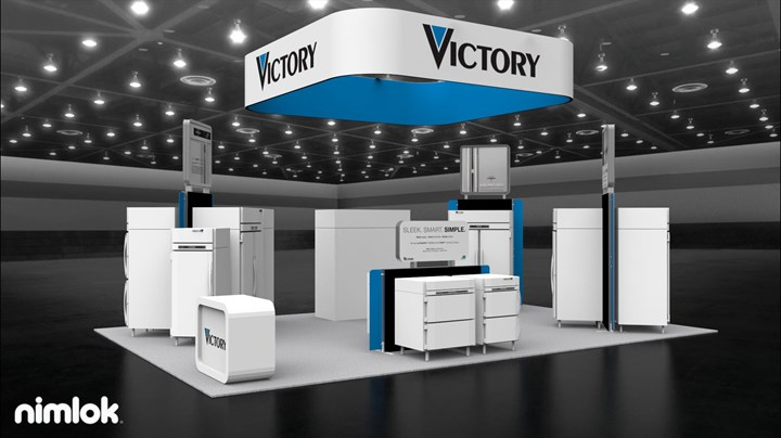 Victory Refrigeration - 20x30 - trade show exhibit