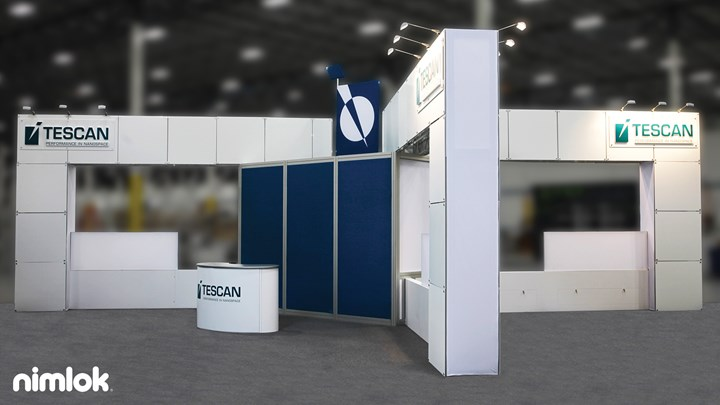 Tescan USA - 30x40 - trade show exhibit