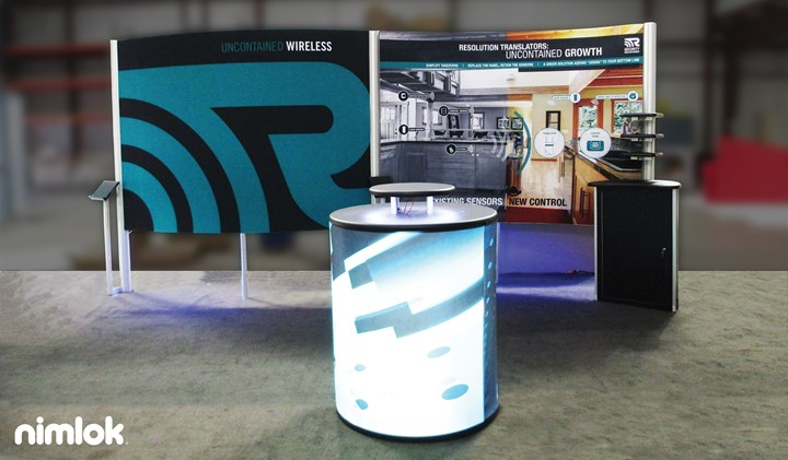 Resolution Products - 10x20 - trade show exhibit