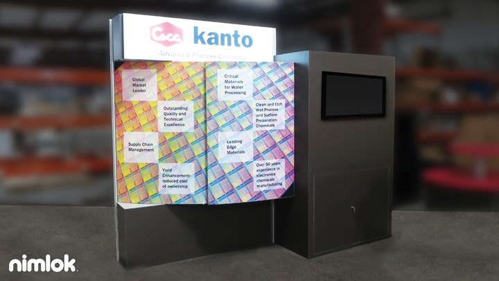 Kanto - 10x10 - trade show exhibit