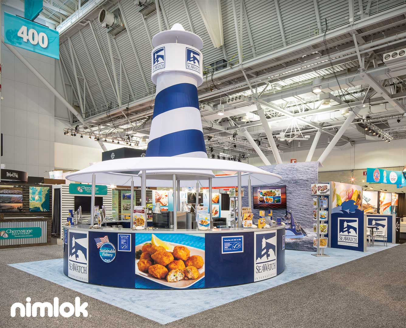 SeaWatch Island Trade Show Exhibit