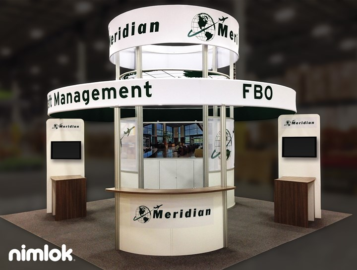 Meridian - 20x20 - trade show exhibit