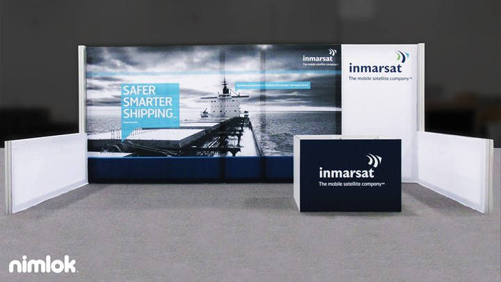Inmarsat CITA 2014 - 10x20 - trade show exhibit