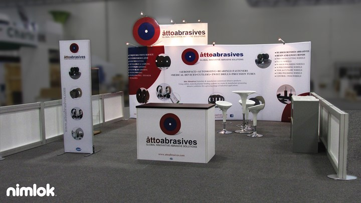 ATTO - 20x20 - trade show exhibit